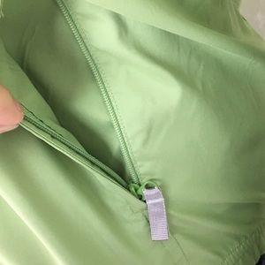 adidas Jackets & Coats - Adidas Soft Lime Front Zip Rain Jacket